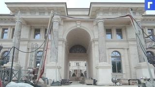 Опубликовано видео изнутри дворца в Геленджике