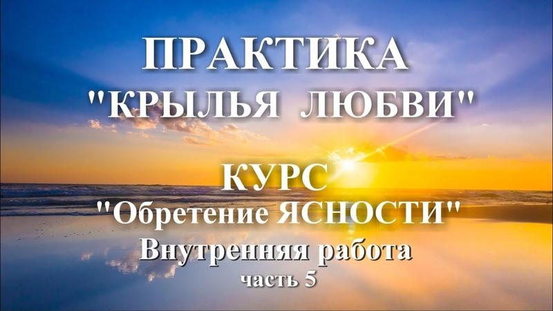 Крылья Любви Практика к 5ч Обретение ЯСНОСТИ Галина Куклина