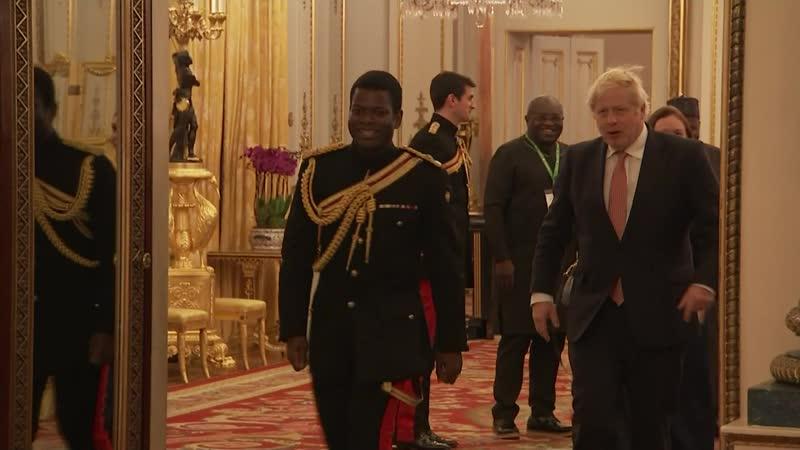 Уильям и Кэтрин провели приём в честь форума UK-Africa Investment, 20.01.2020
