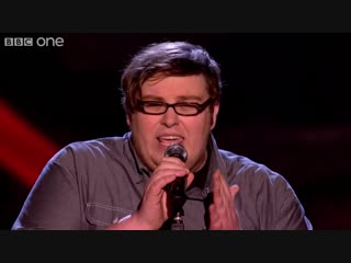 The Voice UK 2013 Ash Morgan performs Never Tear Us Apart - Blind Auditions 1 -