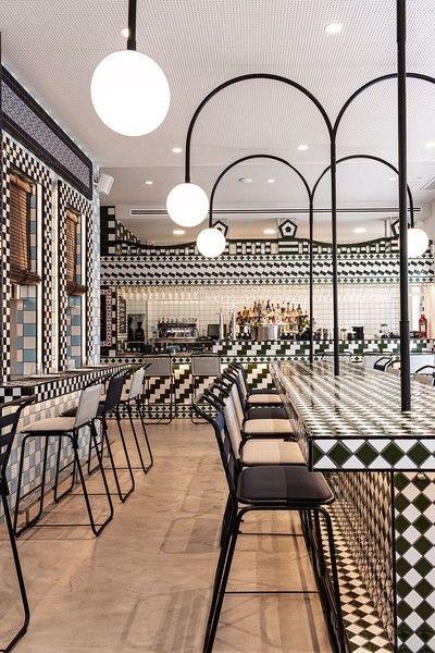 Эклектичный ресторан La Sastrería в Валенсии