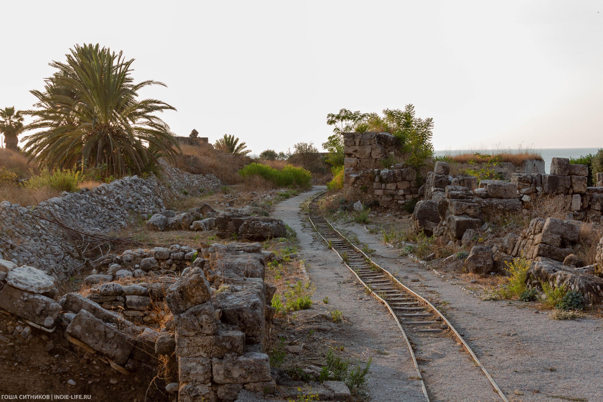 Библ. Железная дорога в крепости