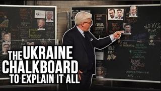 UKRAINE SCANDAL EXPLAINED: Chalkboard on DNC Collusion, Joe Biden, Soros, Trump & More