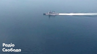 Есмінець Британії проти ВМС Росії. Момент зустрічі