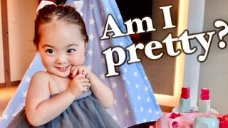 Am I pretty? | Father's Day Trip