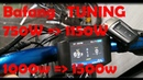 Bafang TUNING BBS02 BBSHD тюнинг настройка программирование 500w 750w 1000w