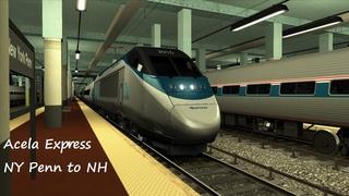 Train Simulator 2021: Acela Express NY Penn to New Haven