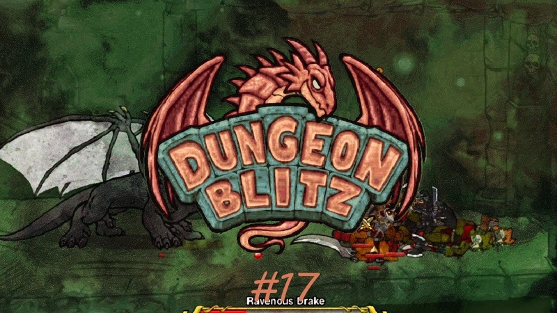 Dungeon Blitz прохождение 17 Wither the Witch
