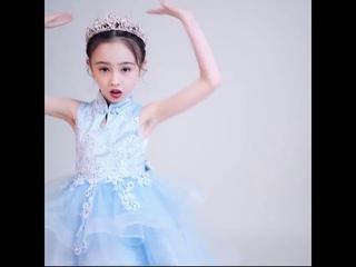 Модная детская одежда новое пышное праздничное платье принцессы для маленьких девочек на свадьбу