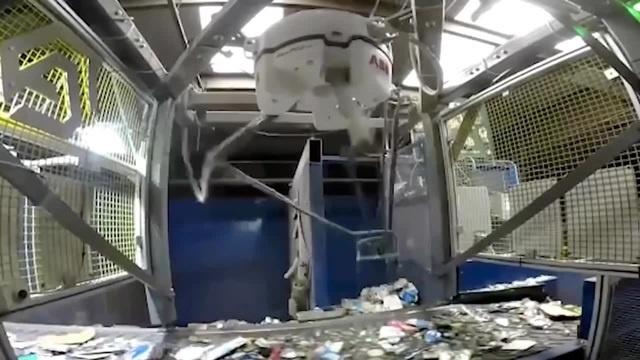 Автоматическая сортировка мусора дельта роботом с цифровым зрением и нейросетью