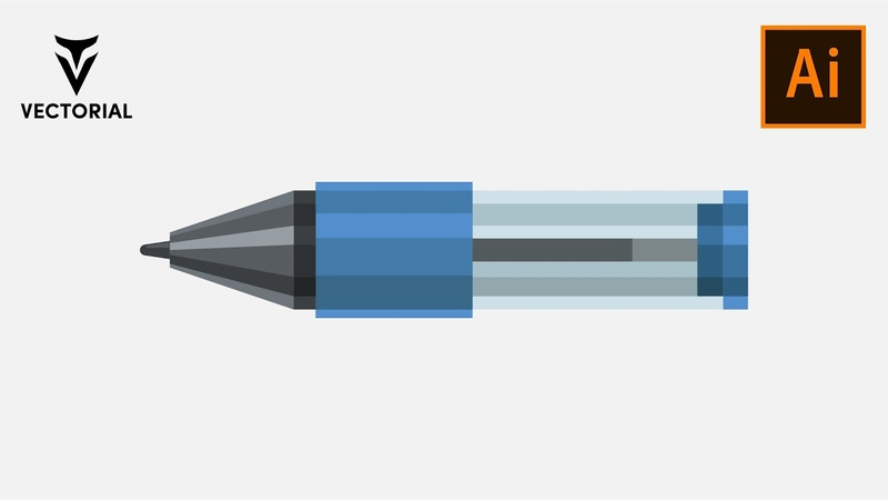 How to draw a pen tutorial in Adobe Illustrator 2020