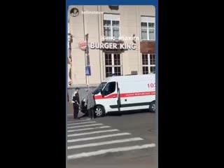 В Минске из-за репетиции парада не пропустили скорую  Приоритеты расставлены