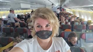 Самолёт Переполнен ВСЕ летят в Турцию на отдых апрель едем в KemerBarutCollection Мы в ШОКЕ.
