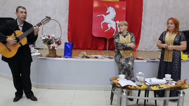 Творческий вечер Ольги Чудиновой и Марины Решетниковой Часть 15 Андрей Бурдин