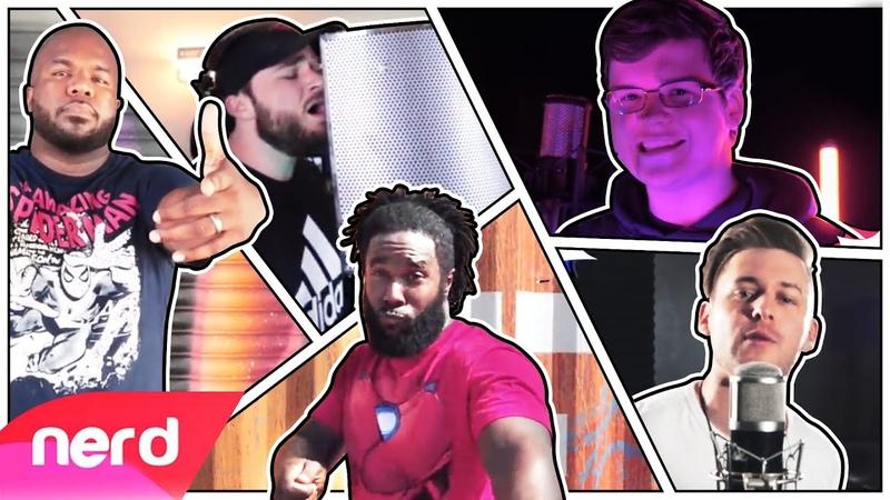 The Spider-Man Rap Battle | Performance Video | NerdOut ft. Fabvl, Zach Boucher, Dreaded Yasuke