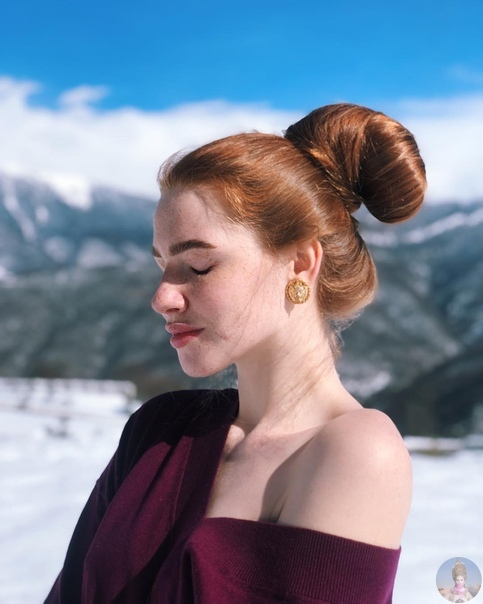 Анастасия Сидорова и ее великолепная шевелюра