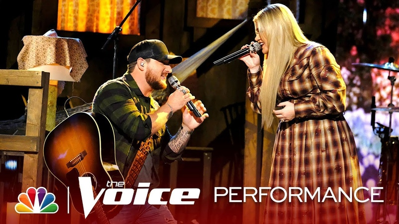 Kaleb Lee and Kelly Clarkson Perform I Dream in Southern - The Voice Live Top 8 Eliminations 2019