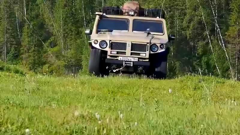 ГАЗ-2330 Тигр - Зверь, а не машина