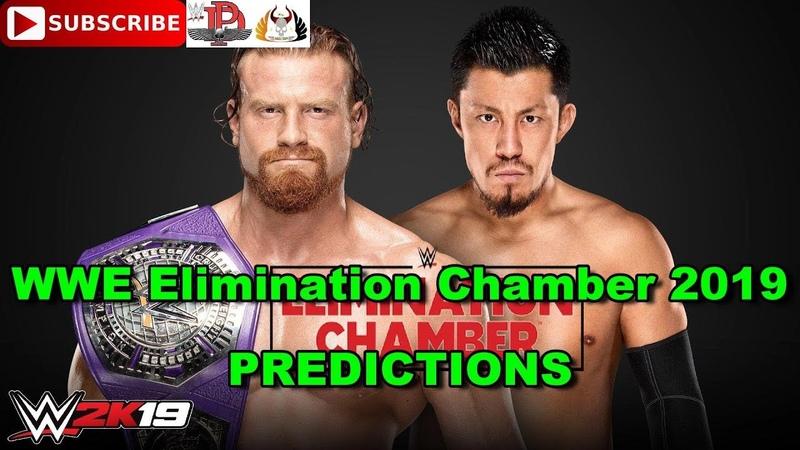 WWE Elimination Chamber 2019 Cruiserweight Championship Buddy Murphy vs. Akira Tozawa WWE 2K19