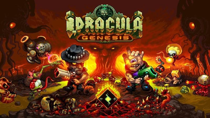 I, Dracula: Genesis / Pixel Art Isometric Roguelike/ Announcement Trailer
