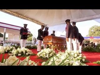 Похороны президента Гаити прошли на фоне акций протеста…