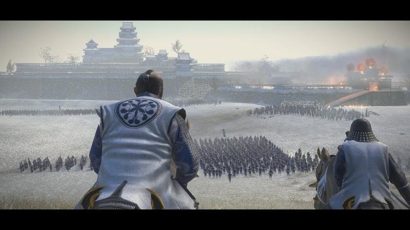 Battle of Shiroyama 1877 城山の戦い Satsuma Rebellion Total War Shogun 2 Historical Epic Battle