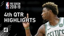 Cleveland Cavaliers vs Boston Celtics - 4th Qtr Highlights | October 2, 2018 | 2018 NBA Preseason