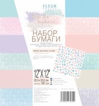 Набор бумаги Шебби Шик Базовая 2.0 30,5х30,5, 12 двусторонних листов FD1007230 296 р