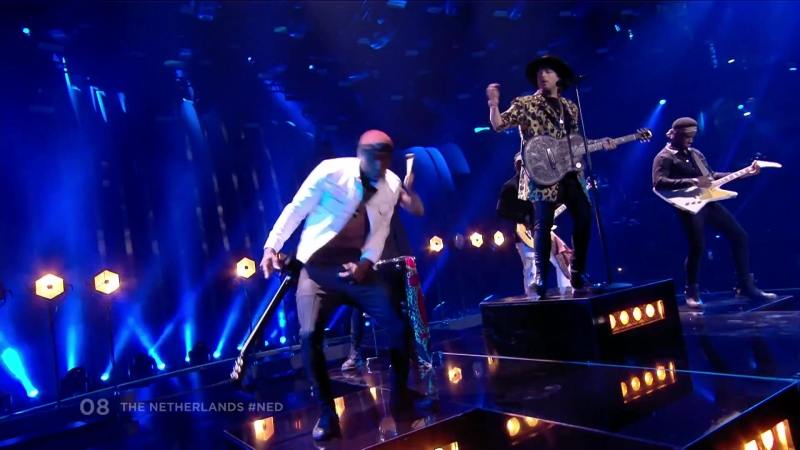 Waylon - Outlaw In Em (The Netherlands) - Eurovision 2018 - 2nd semifinal - JURY SHOW