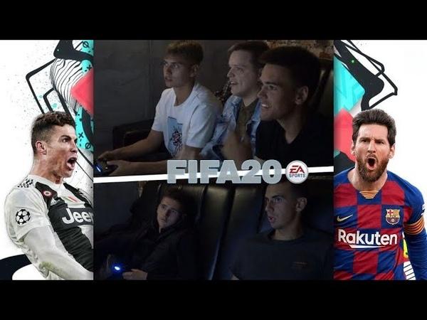 Мини турнир по FIFA 20 Лисовский Плют Лазарчик Мельник