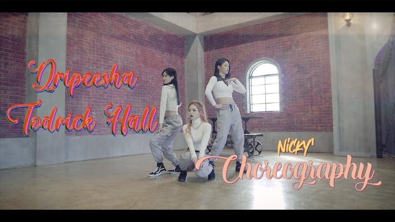 Todrick Hall Dripeesha Choreography NEWEST CREW Nicky