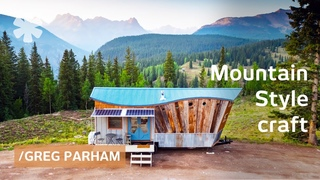 Durango builder's sliding beds/tables, rugged mountain homes