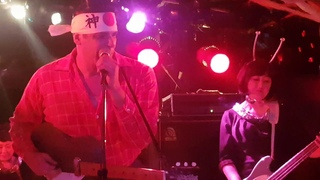 5678s with Bloodshot Bill play Planet Claire at the Halloween Ball - The Loft, Shinjuku (28/11/18)