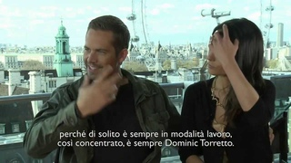 Fast & Furious 6 interview with Paul Walker and Jordana Brewster