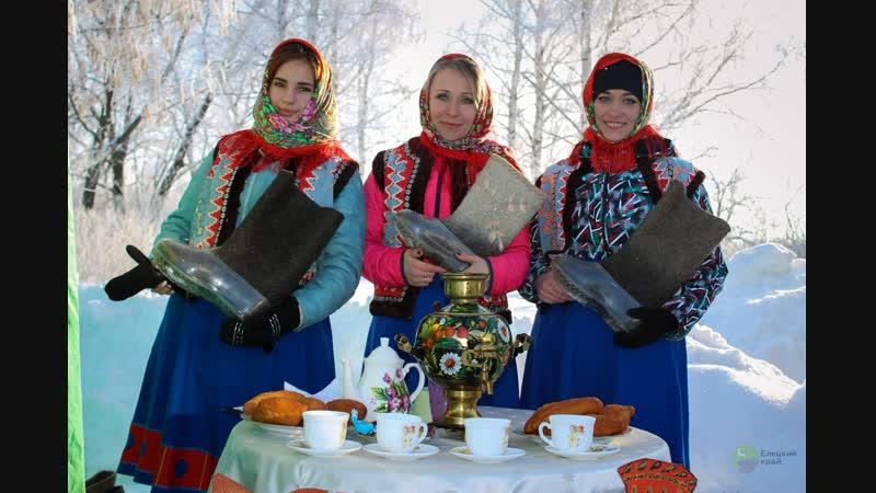 В Елецком районе с русским размахом состоялся фестиваль Голиковские святки