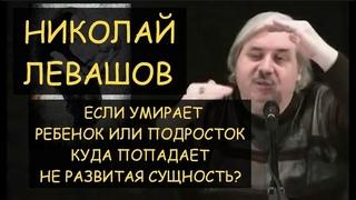 ✅ Н.Левашов: Если умирает ребенок или подросток - куда попадает его не развитая сущность?