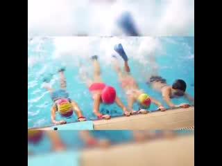 Приглашаем в новую группу Секции плавания Плавательные каникулы