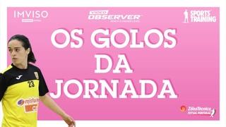 Os melhores golos da Jornada 8 do Campeonato Nacional Feminino - Apuramento Campeão