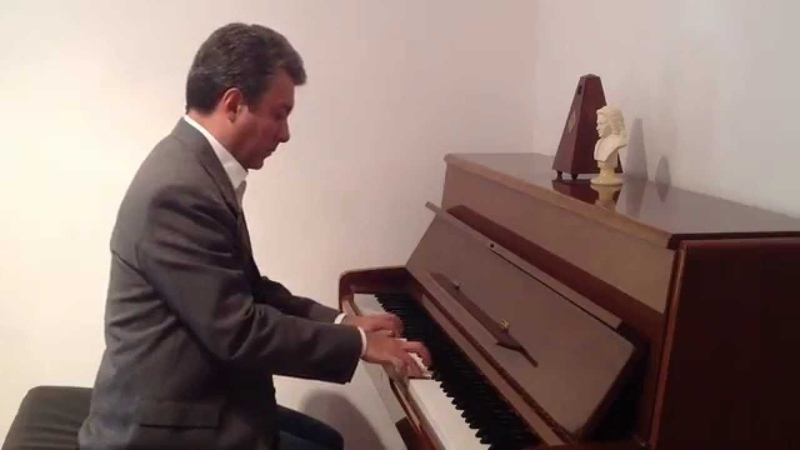 Vals N° 2 Andreina de Antonio Lauro- Piano:Carlos David Palacios Quintero