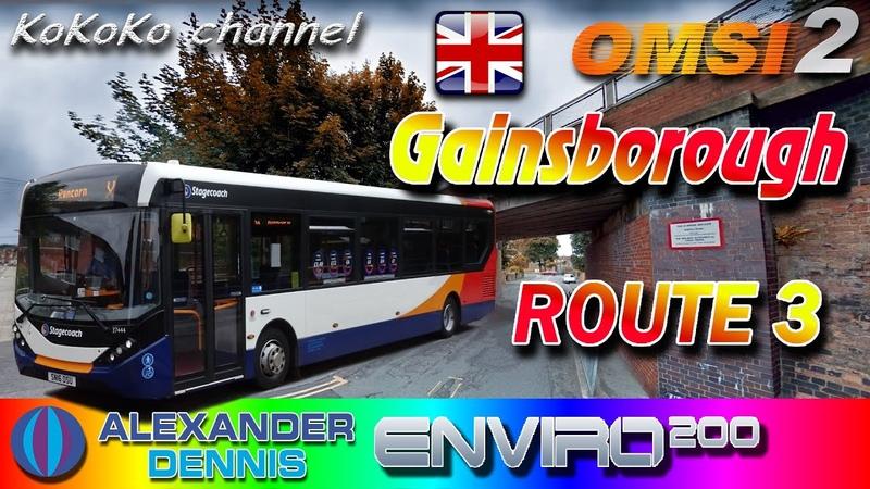 OMSI 2 Gainsborough 3 ADL Enviro200 MMC ▷ Ko 062