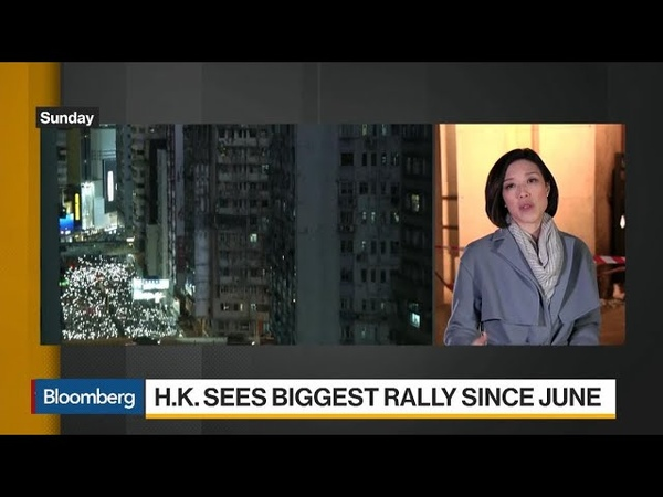 Biggest Hong Kong Protest in Months Signals More Unrest