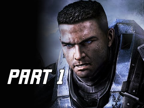 HALO REACH Gameplay Walkthrough Part 1 - Noble Team (Master Chief Collection)