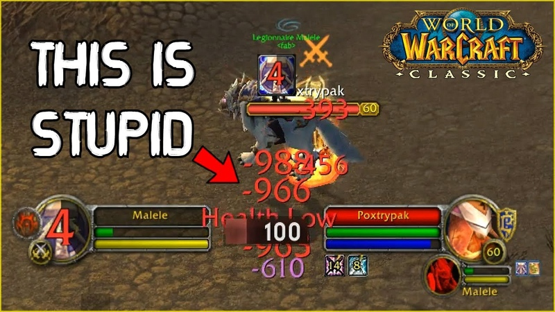 THIS is Just STUPID Rogue PvP WoW Classic